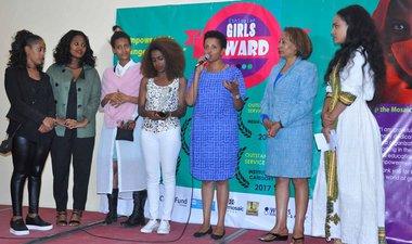 Yegna wins Ethiopian girl award