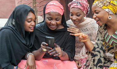 Harnessing mobile technology to empower girls and women