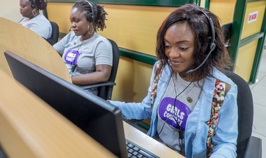 Girls Connect call centre