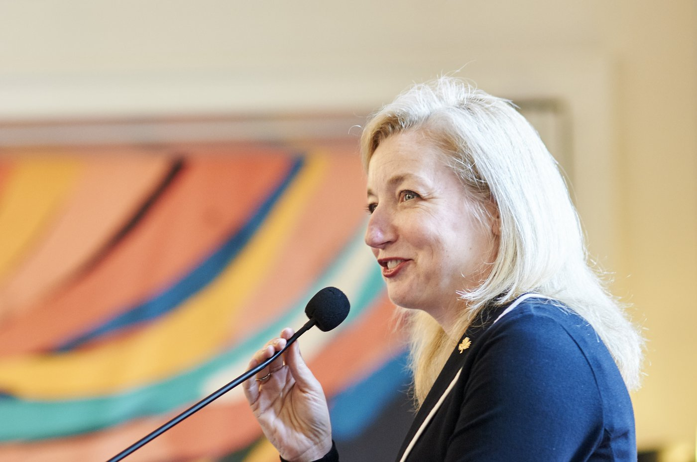 Sarah Fountain Smith, Deputy High Commissioner to the UK, welcomed the launch