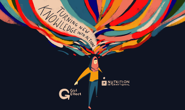 Girl Effect and Nutrition International partnership