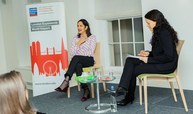 Girl Effect speaks at inaugural London Business School event