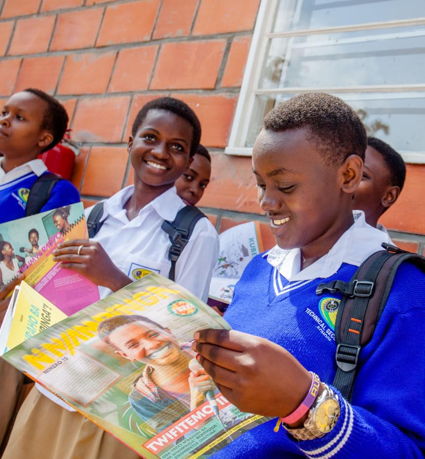 Rwanda Ni Nyampinga education
